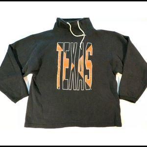 Vintage 90s Texas Longhorns Mock Neck Crewneck